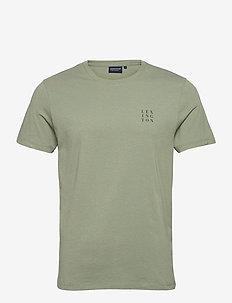 Max Tee - basic t-shirts - green