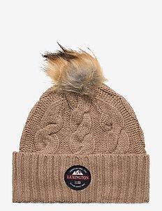 Bell Pom Pom Beanie - bonnets - beige melange