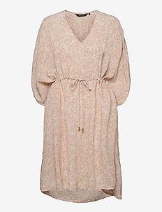 Alexandra Flower Beach Caftan - robes d'été - flower print