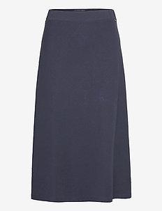 Brielle Skirt - jupes midi - dark blue