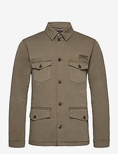 Drake Safari Jacket - yläosat - green