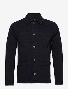 Chester Twill Worker Jacket - kevyet takit - dark blue