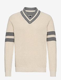 Matthew Sweater - basic knitwear - offwhite