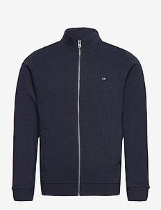 Jay Track Jacket - perus-college-paitoja - dark blue