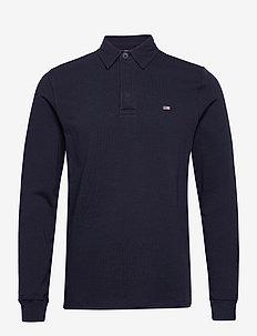 Theodore Rugby Shirt - pitkähihaiset - dark blue