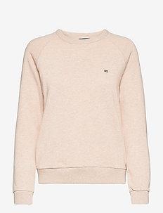 Nina Sweatshirt - sweatshirts - light beige melange