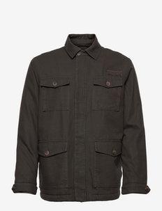 Buddy Cotton Canvas Field Jacket - windjassen - green