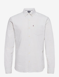 Kyle Organic Cotton Oxford Shirt - chemises de lin - gray
