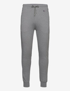 Ivan Organic Cotton Track Pants - tøj - gray melange