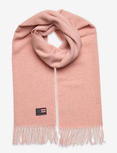 Massachussets Recycled Wool Blend Scarf - vinterskjerf - pink