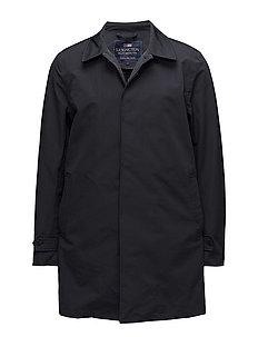 Pierce Overcoat - Deep Marine Blue