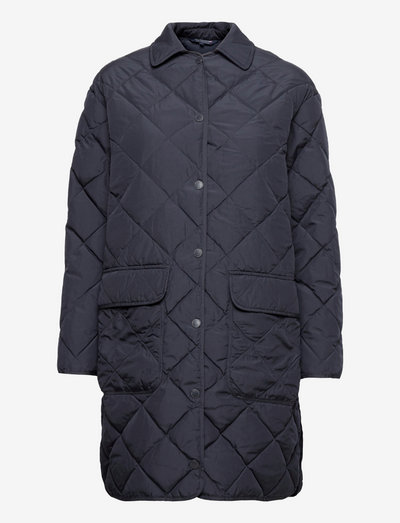 Darlene Down Quilted Jacket - daunenmäntel - dark blue