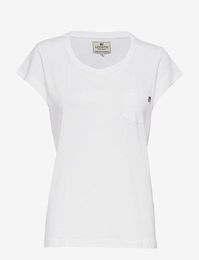 Ashley Jersey Tee - t-shirts - bright white