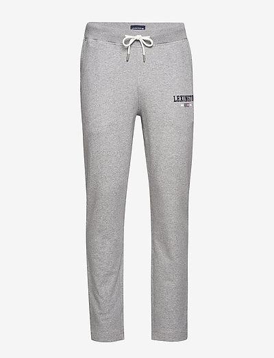 Brandon Jersey Pants - sweat pants - gray melange