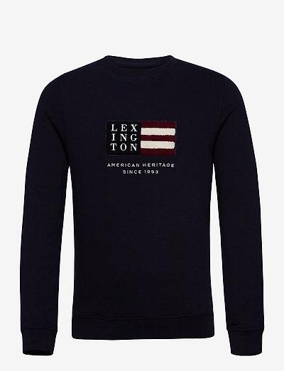 Barry Organic Cotton Sweatshirt - clothing - dark blue