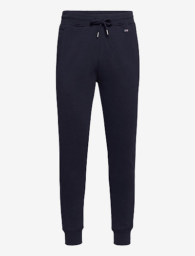Ivan Organic Cotton Track Pants - vêtements - dark blue