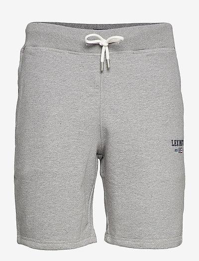 James Jersey Shorts - casual shorts - gray melange