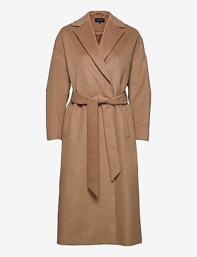 Katia Wool/Cashmere Blend Coat - wollmäntel - beige