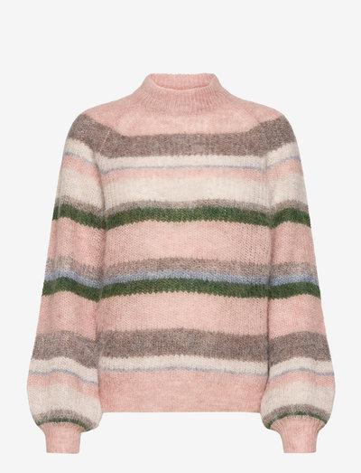 Carrie Alpaca Blend Sweater - pullover - multi stripe