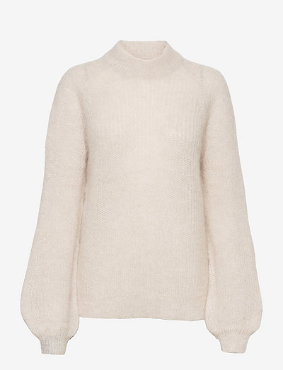 Carrie Alpaca Blend Sweater - pullover - offwhite