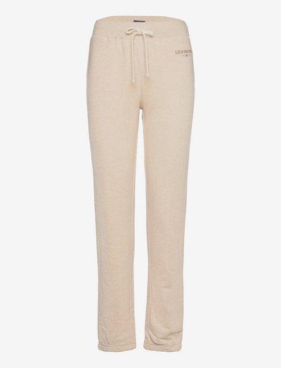 Jenna Pants - jogginghosen - light beige melange