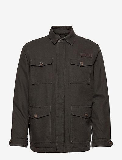 Buddy Cotton Canvas Field Jacket - leichte jacken - green