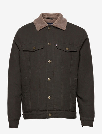 Jared Canvas Jacket - jeansjacken - green