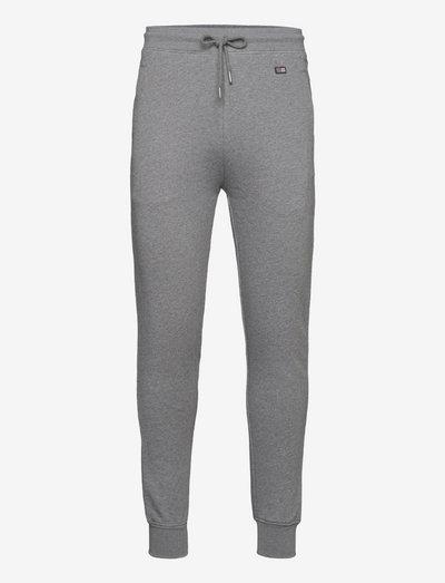 Ivan Organic Cotton Track Pants - vêtements - gray melange