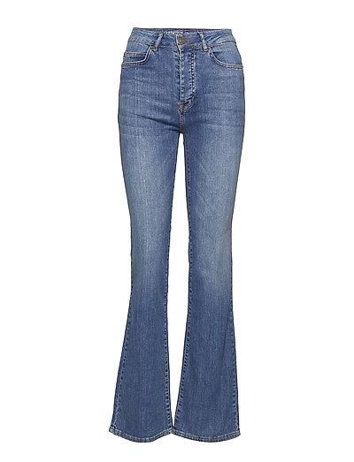 Shelley Bootcut Jeans - MEDIUM BLUE DENIM