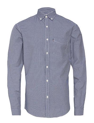 Taylor Poplin Shirt - BLUE/WHITE CHECK