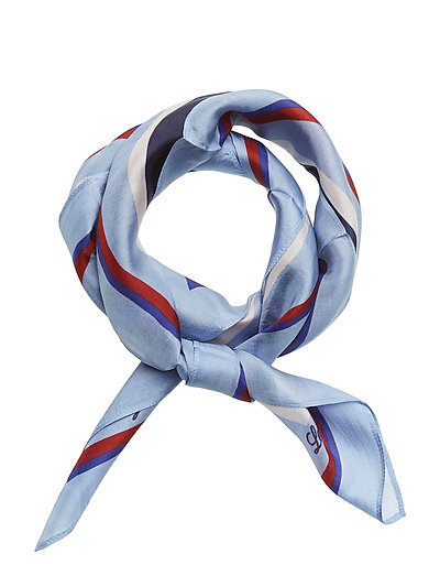 Gardiners Bay Stripe Silk Scarf - MULTI STRIPE