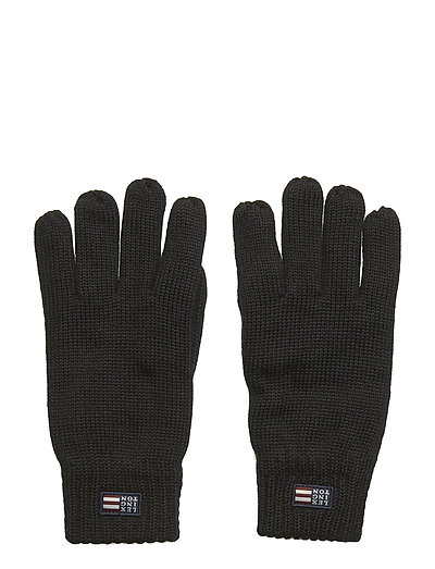 Connecticut Knitted Gloves - CAVIAR BLACK