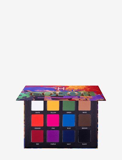 Color palette - Ögonskuggspalett - milto-color