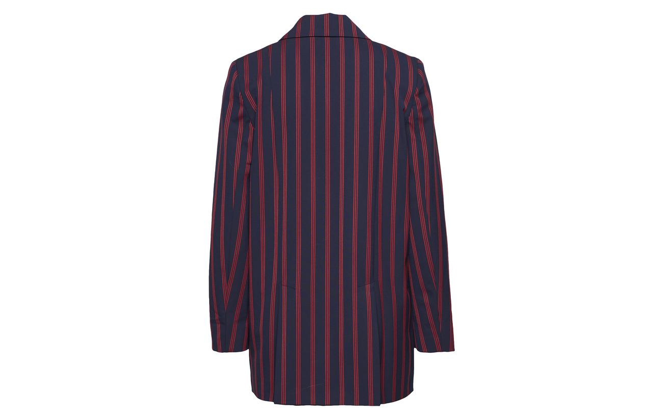 Navy Red 4 Stripe Viscose libertine 29 Polyester Shift 67 Libertine Dark Elastane tHacI