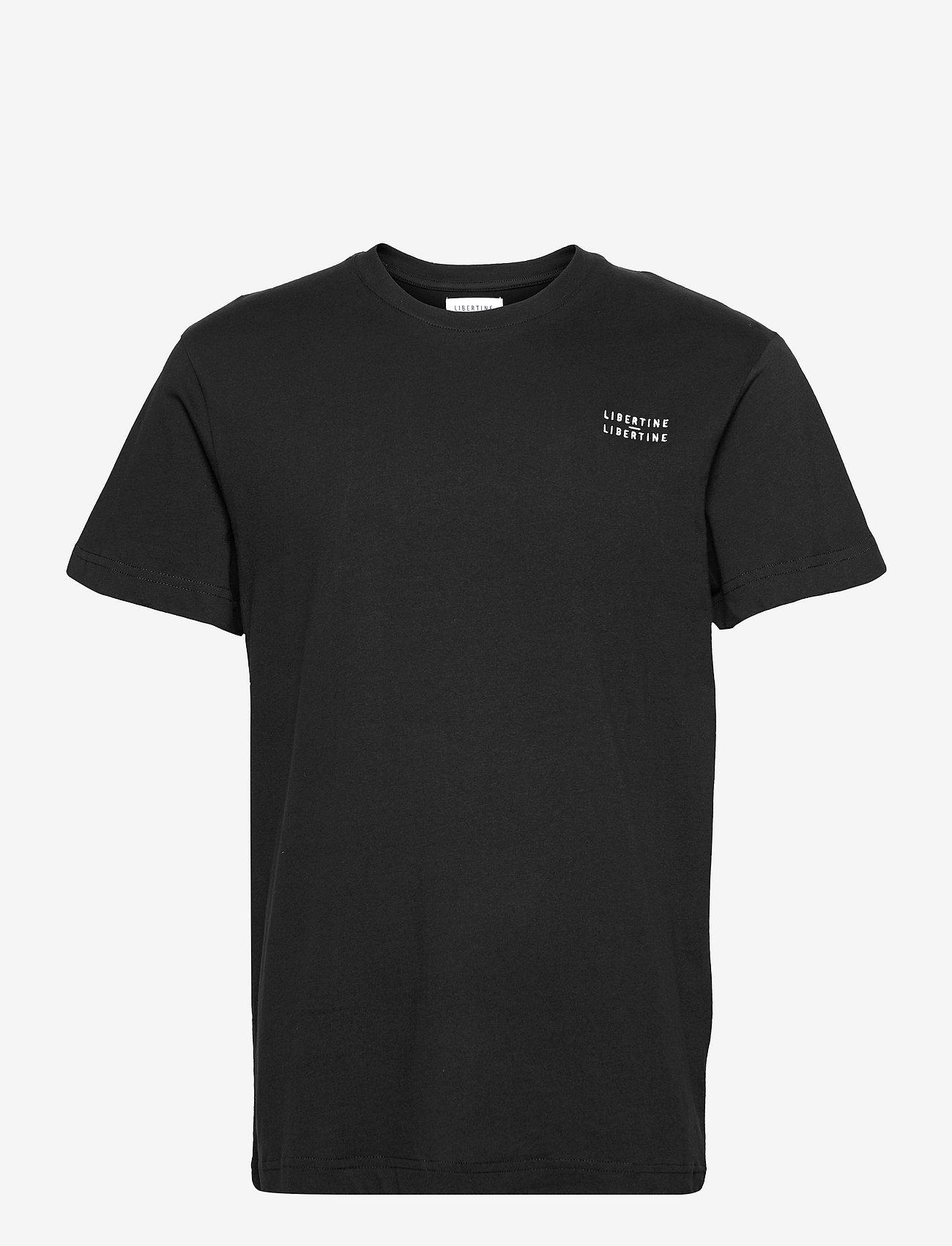 Libertine-Libertine - Beat L-L - basic t-shirts - black - 0