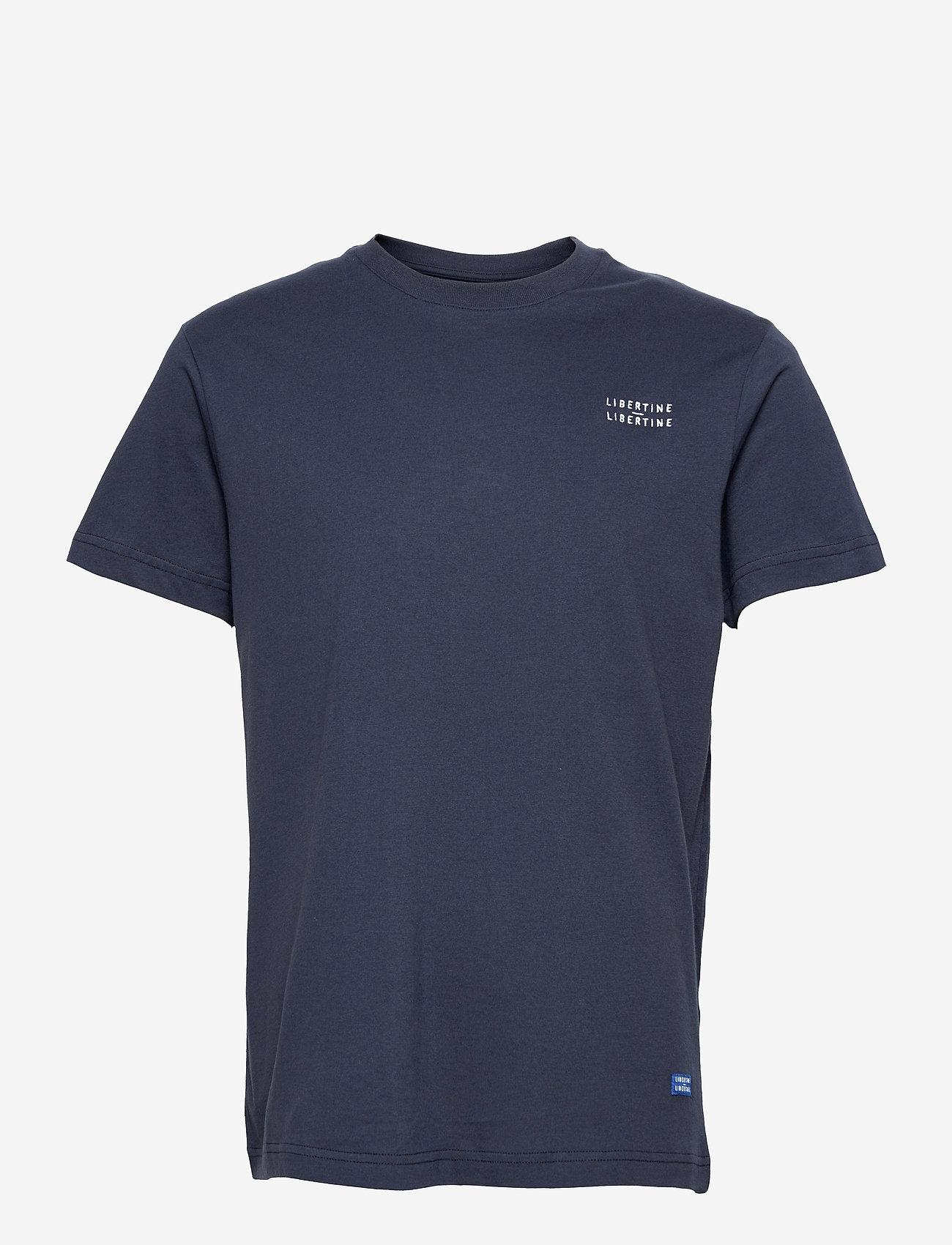 Libertine-Libertine - Beat L-L - t-shirts basiques - night sky - 0