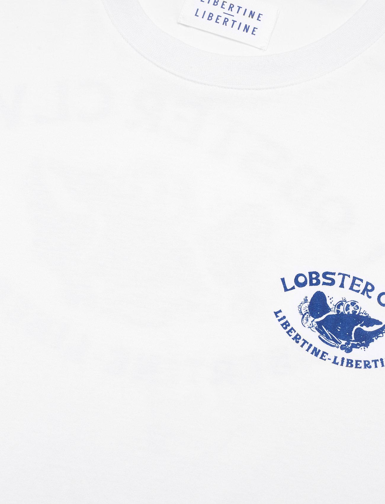 Libertine-Libertine - Beat Claw - basic t-shirts - white - 2
