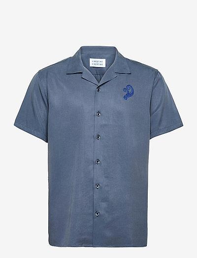 Cave - chemises à manches courtes - corn blue