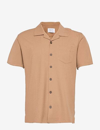 Cave S/S - oxford skjorter - khaki