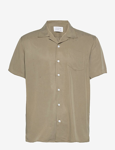 Cave S/S - oxford shirts - olive