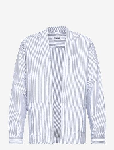 Uproar - kleding - white + blue stripe