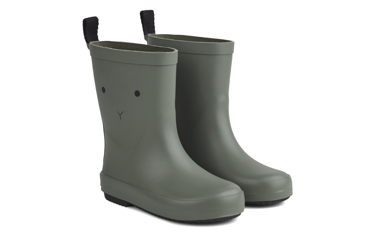 Liewood Rio Rain Boot - RABBIT FAUNE GREEN