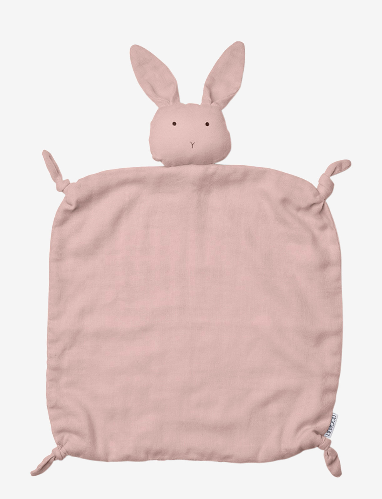 Liewood - Agnete cuddle cloth - cuddle blankets - rabbit rose - 0