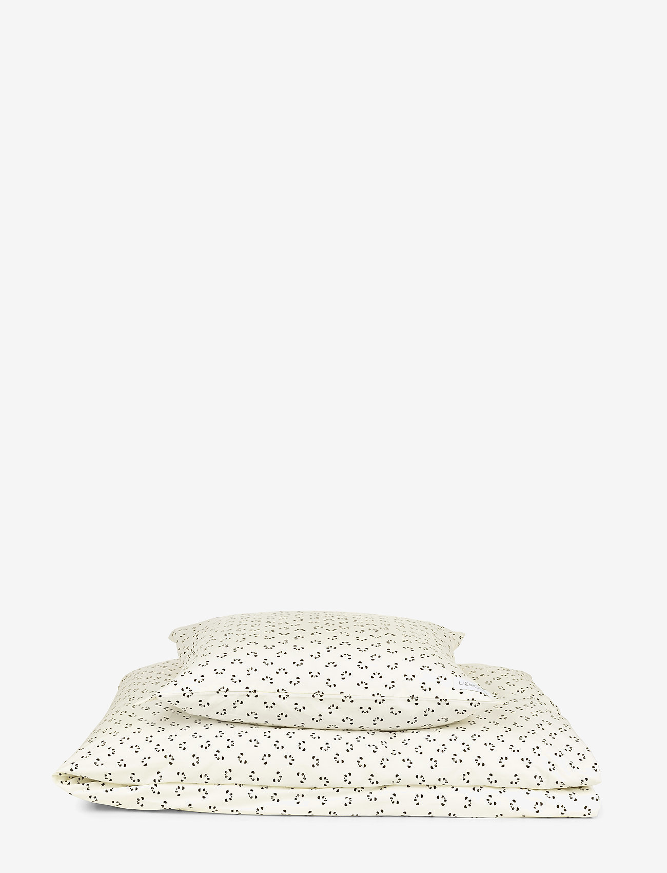 Liewood - Ingeborg junior bedding print - beddings - panda creme de la creme - 0