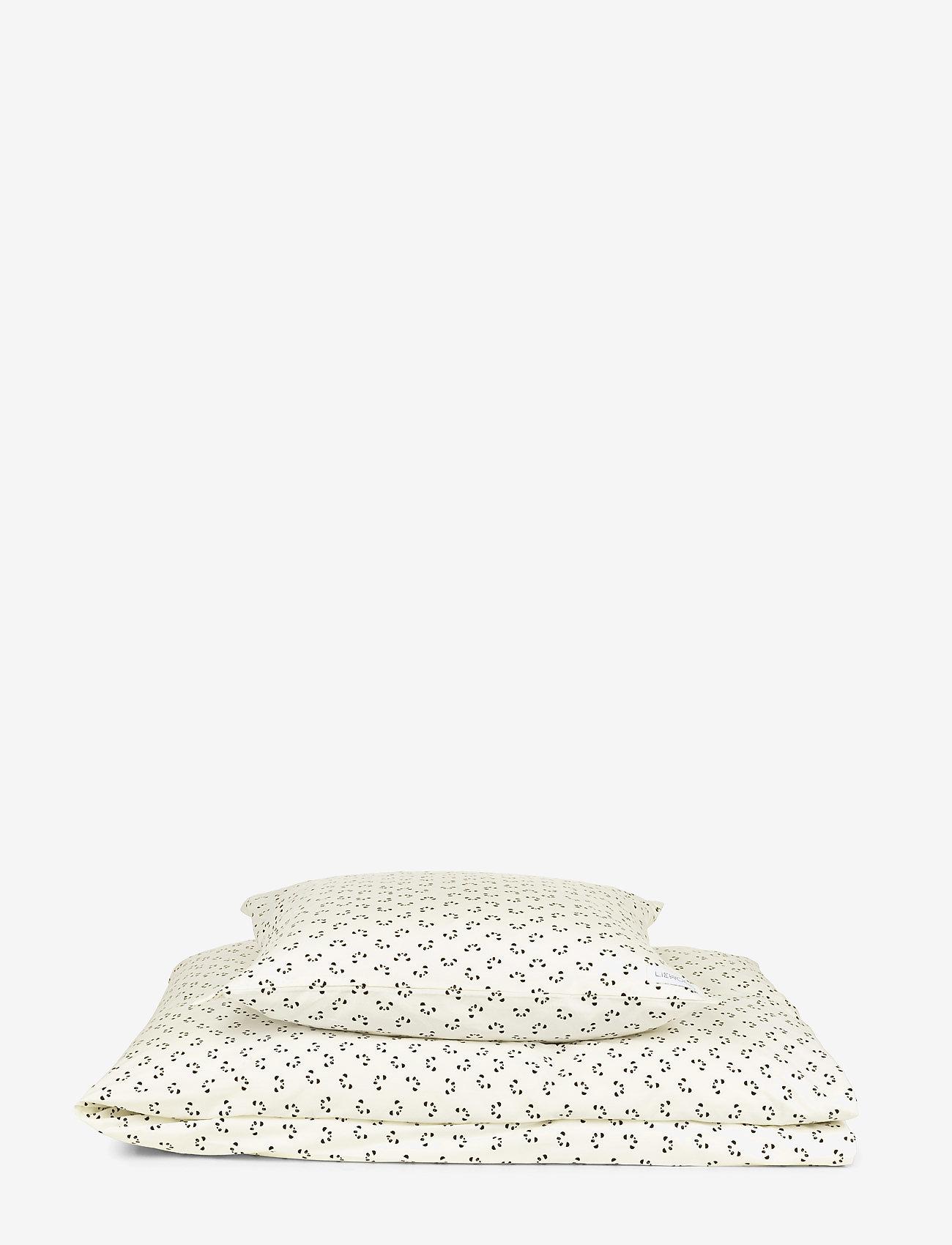 Liewood - Carl adult bedding print - beddings - panda creme de la creme - 0