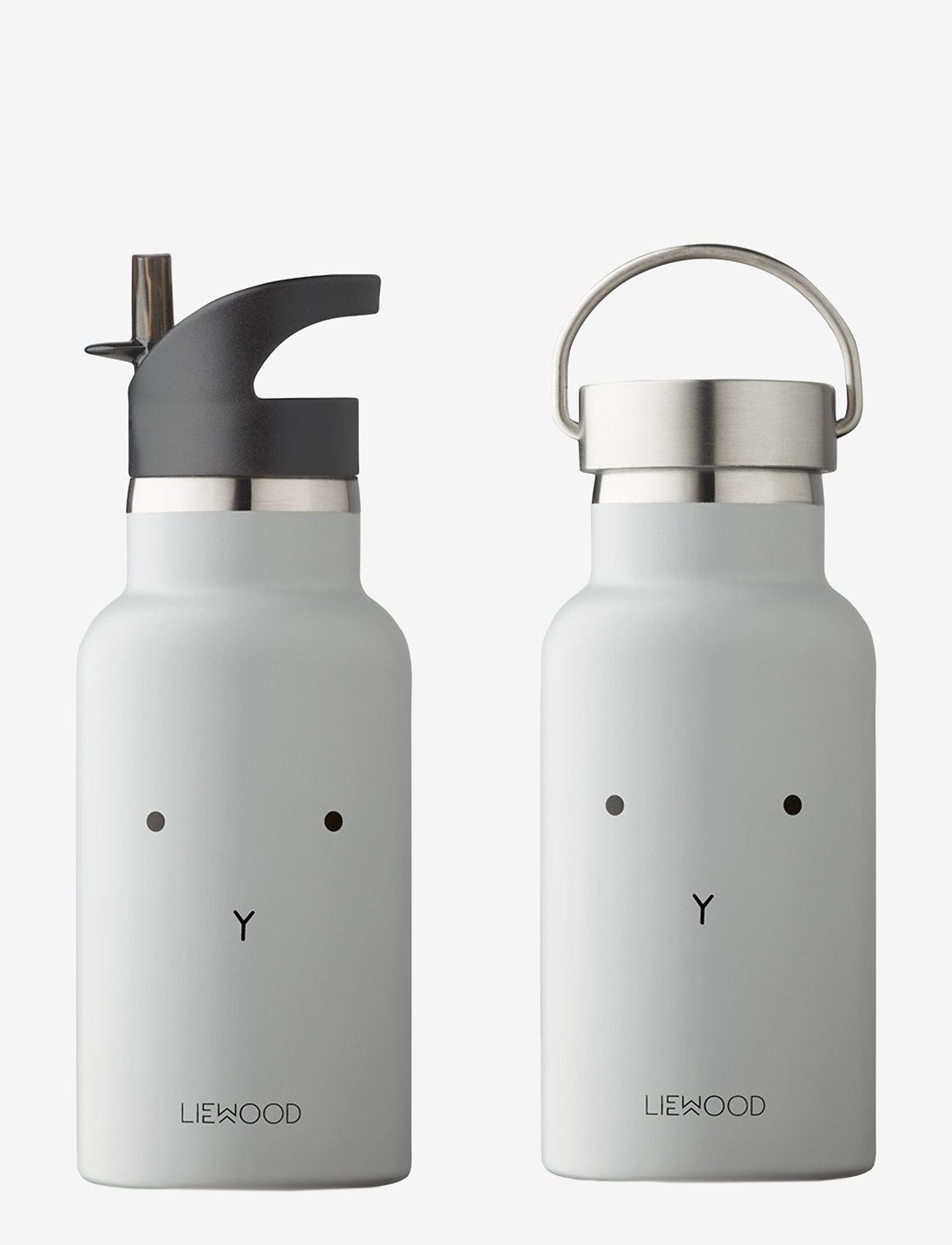 Liewood - Anker water bottle - butelki i termosy - rabbit dumbo grey - 0