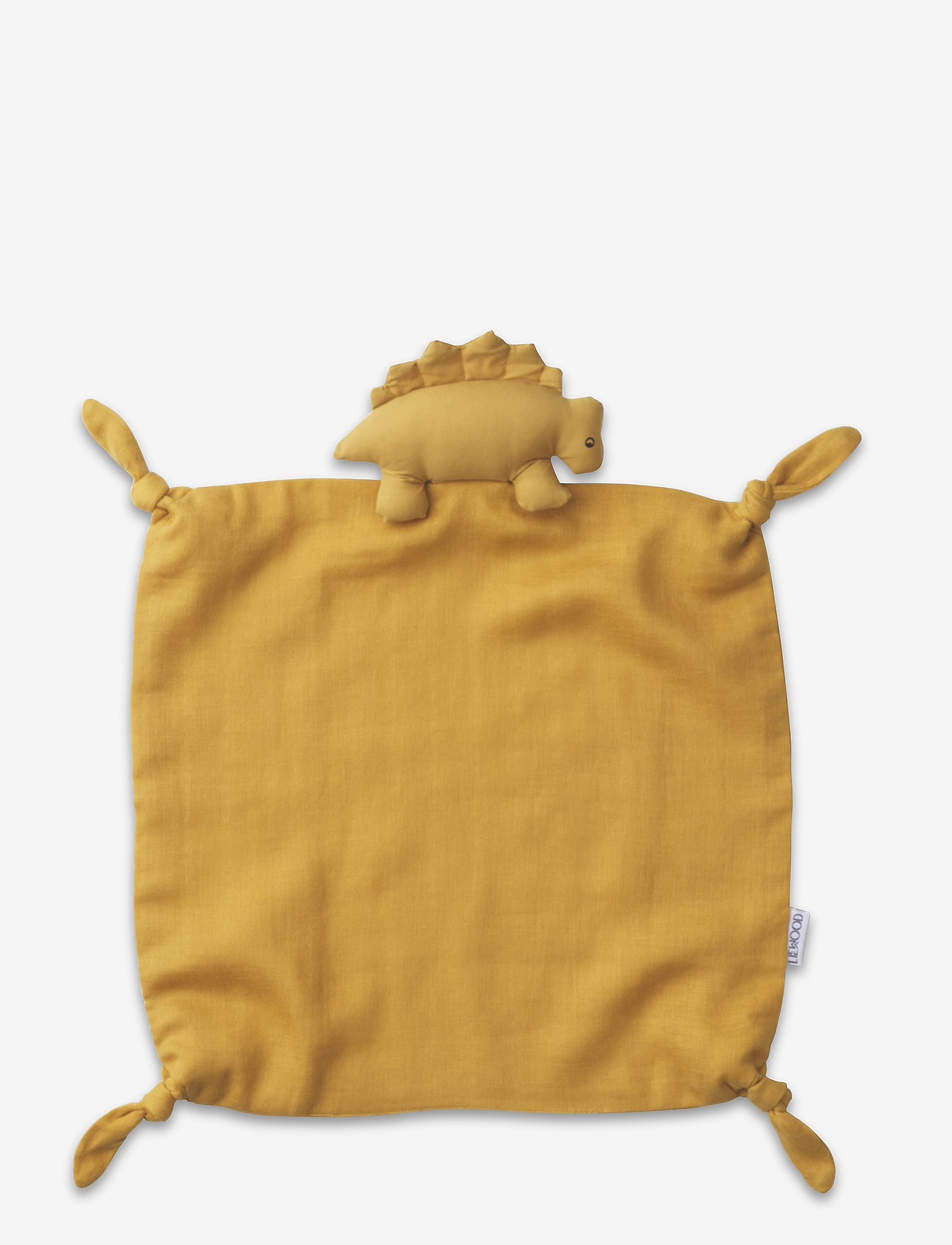 Liewood - Agnete cuddle cloth - cuddle blankets - dino yellow mellow - 0