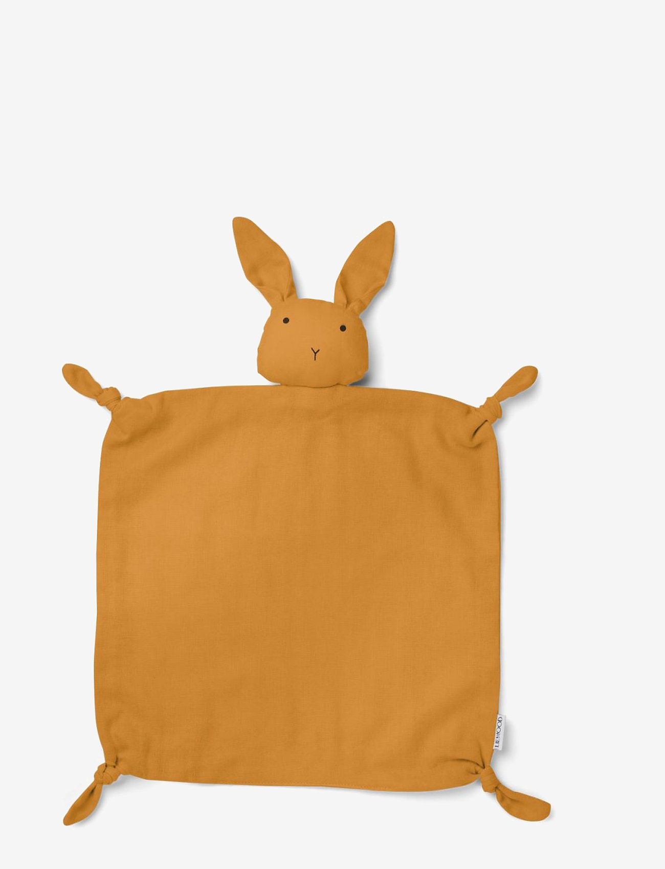 Liewood - Agnete cuddle cloth - baby toys - rabbit mustard - 0
