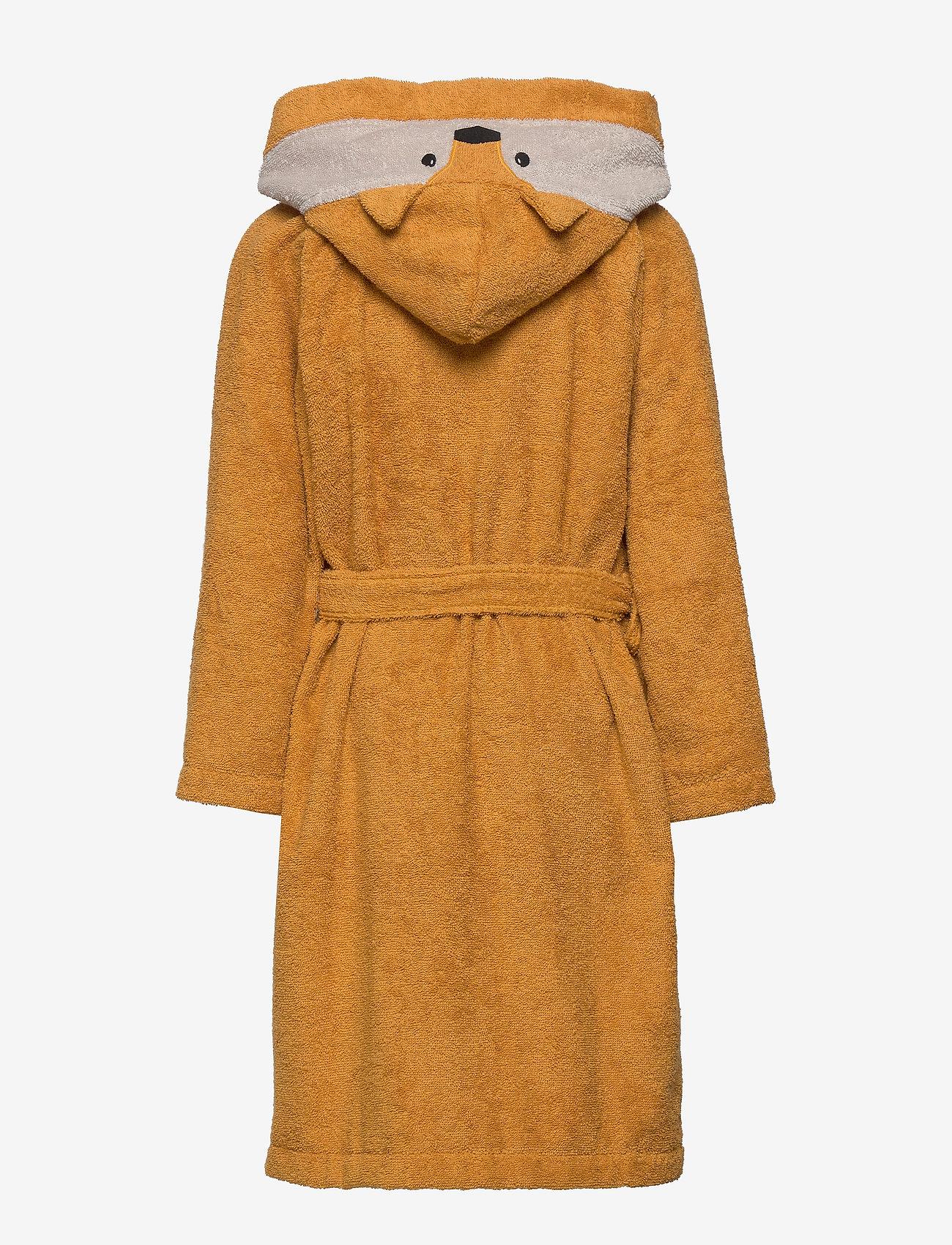 Liewood - Lily bathrobe - bathrobes - fox mustard - 1