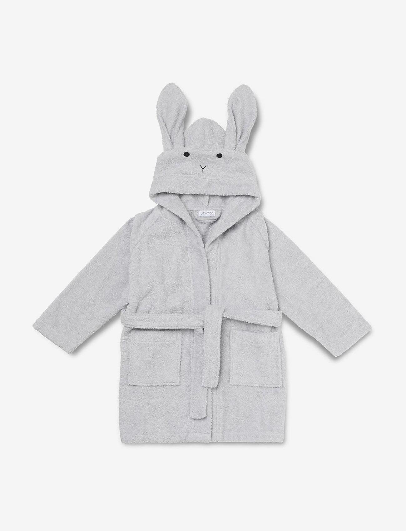 Liewood - Lily bathrobe - szlafroki - rabbit dumbo grey - 0